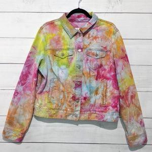 Hand Dyed Denim Jacket